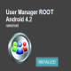 User Manager ROOT Android 4.2 Review