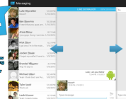 Sliding Messaging, Preview