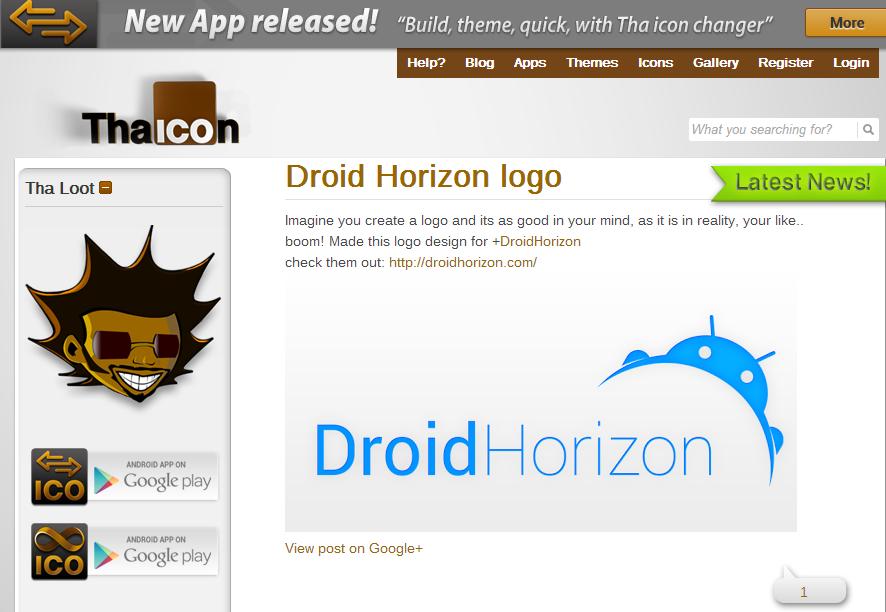 Custom design   Tha Icon DH