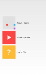 Screenshot Welcome Screen