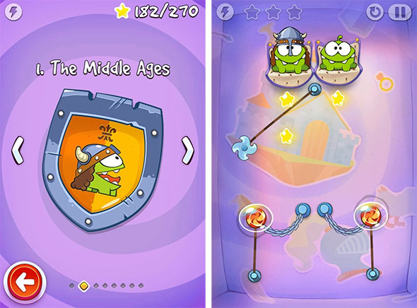 Paranoid Android Cut The Rope Time Travel Sammwak