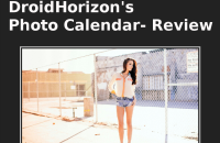 DroidHorizon's Photo Calendar-Review F