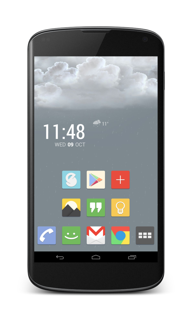 Stormfly Homescreen
