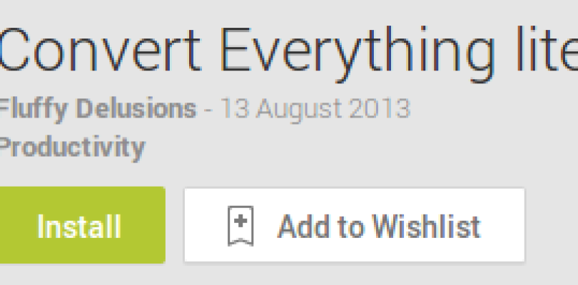 Convert Everything – Review