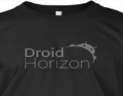 New DroidHorizon apparel available.
