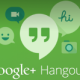 should be hangout logo