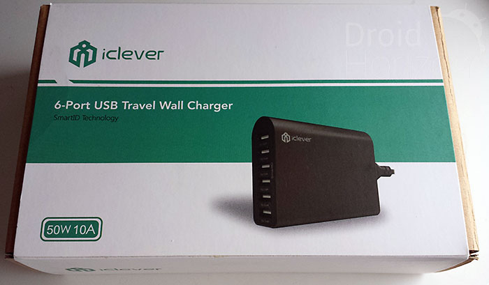 iClever Travel Wall Charger - Box