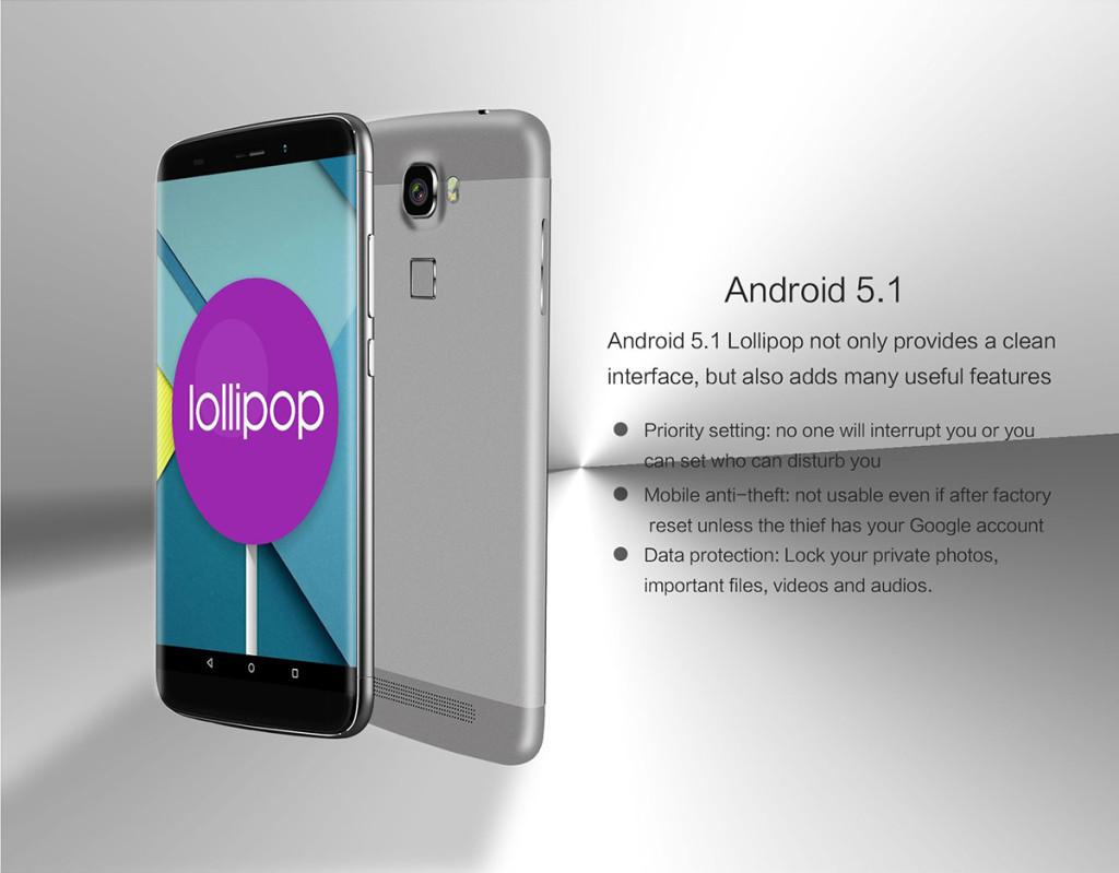 android 5.1 oukitel 10