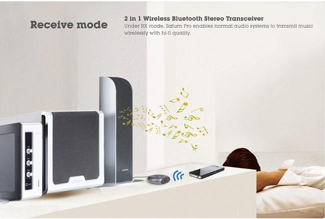 Saturn Pro Bluetooth receiver