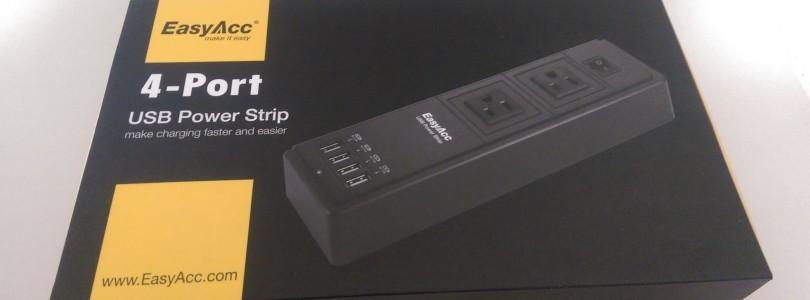 EasyAcc 4-port USB Power Strip Review