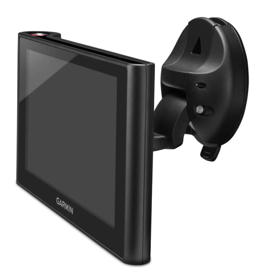 Garmin nüviCam - mounted