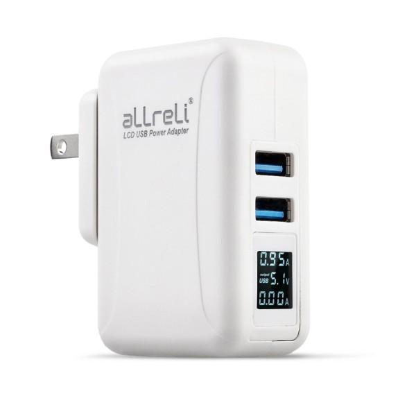 aLLreLi Dual USB charger