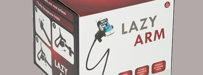 Review: Lazy Arm – Flexible Phone Holder