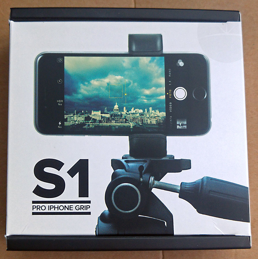 Shoulderpod S1 Box Front