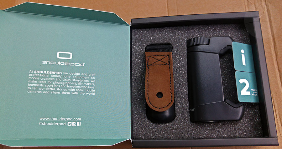Shoulderpod S1 Box Open