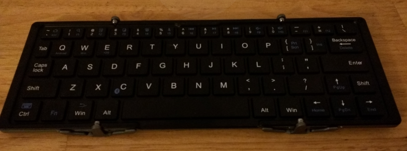 Review: Plugable Bluetooth Folding Keyboard and Case