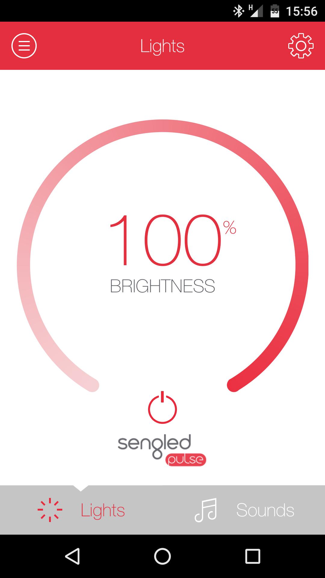 screen shot 1 Sengled Pulse app