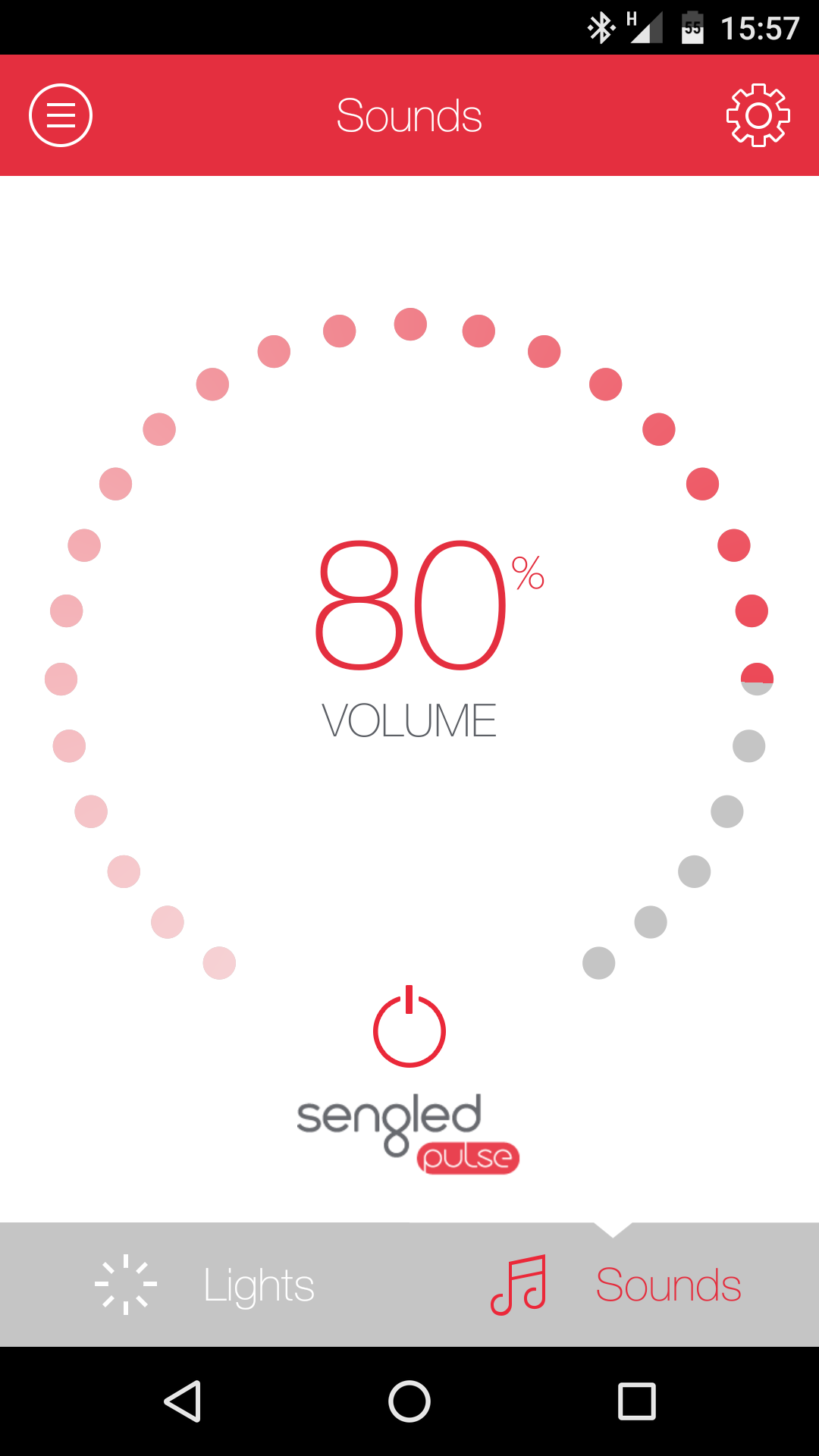 Sengled Pulse screen 2