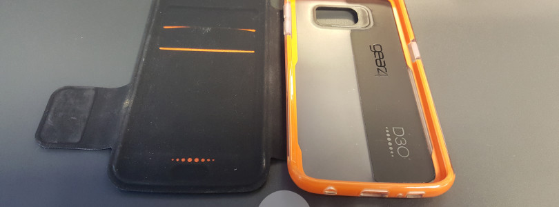 BookCase for Samsung Galaxy S6 Edge from GEAR4