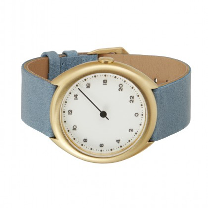 slow_o_13_-_gold_swiss_24_hour_one_hand_wrist_watch_stainless_steel_case_blue_leather_band_-_angle