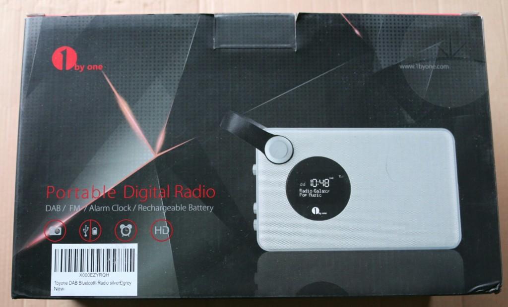 1byone DAB Radio - Box