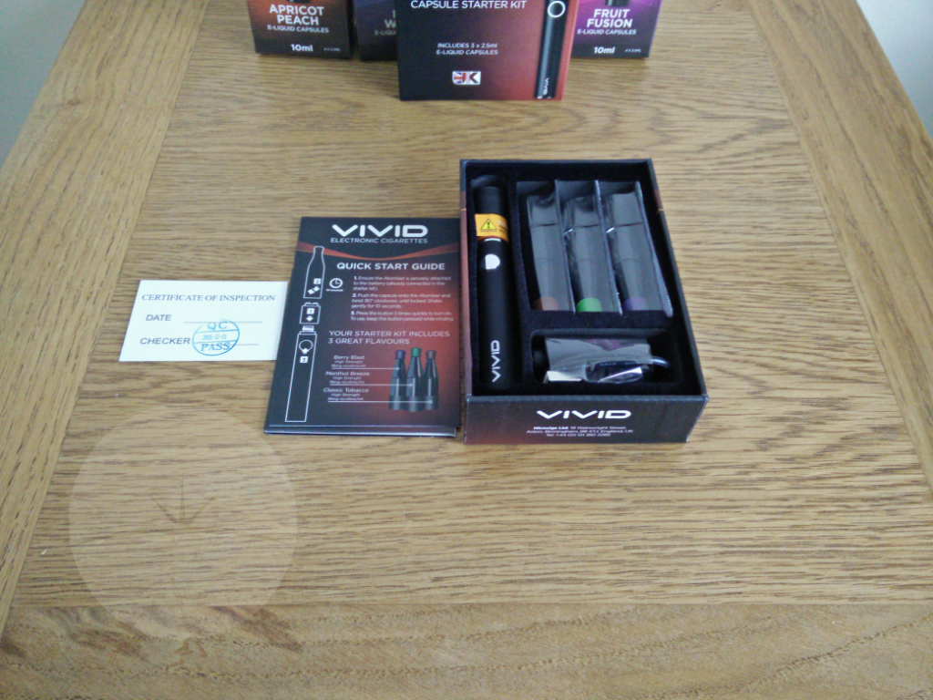 VIVID WM box contents