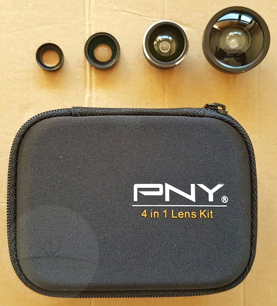 PNY Lens Kit - Lenses and Case
