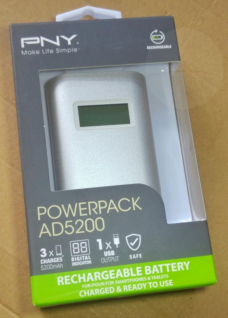 PNY AD5200 - Box