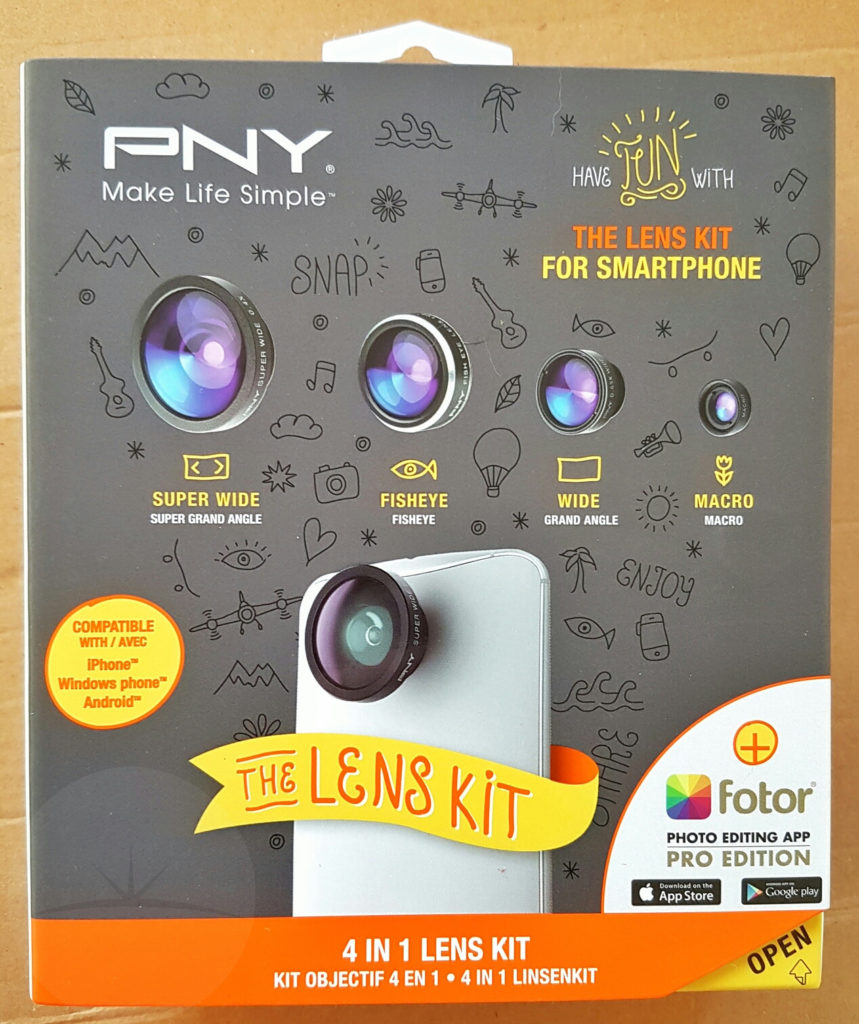 PNY Lens Kit - Box