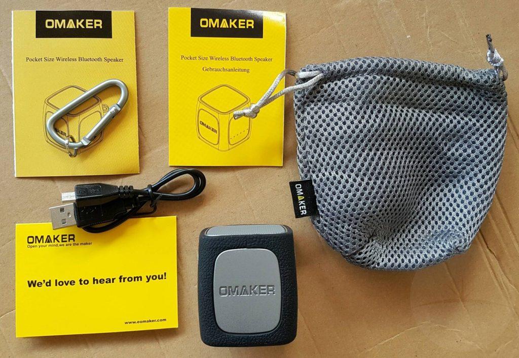 Omaker W4 Speaker - Contents