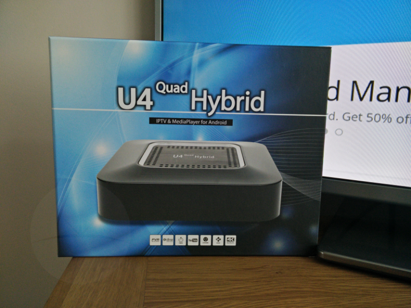 pleasant unboxing U4 Quad Hybrid