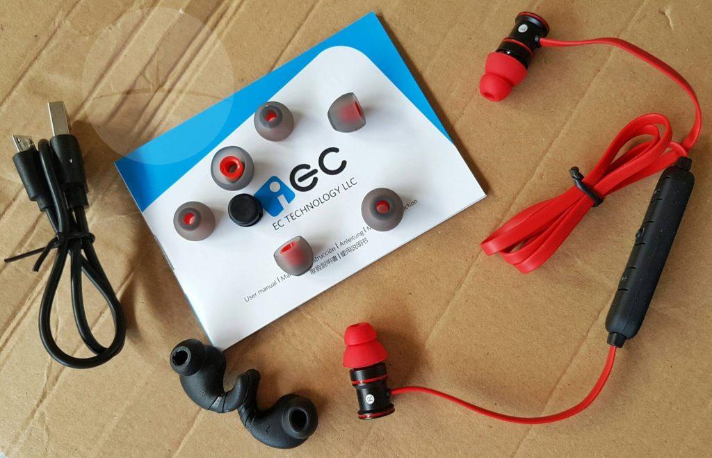 EC Technology Earphones - Contents