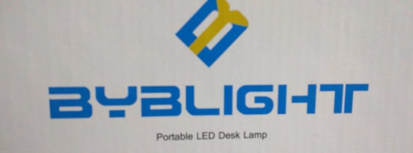 Review: Dimmable LED Desk Lamp from BYB