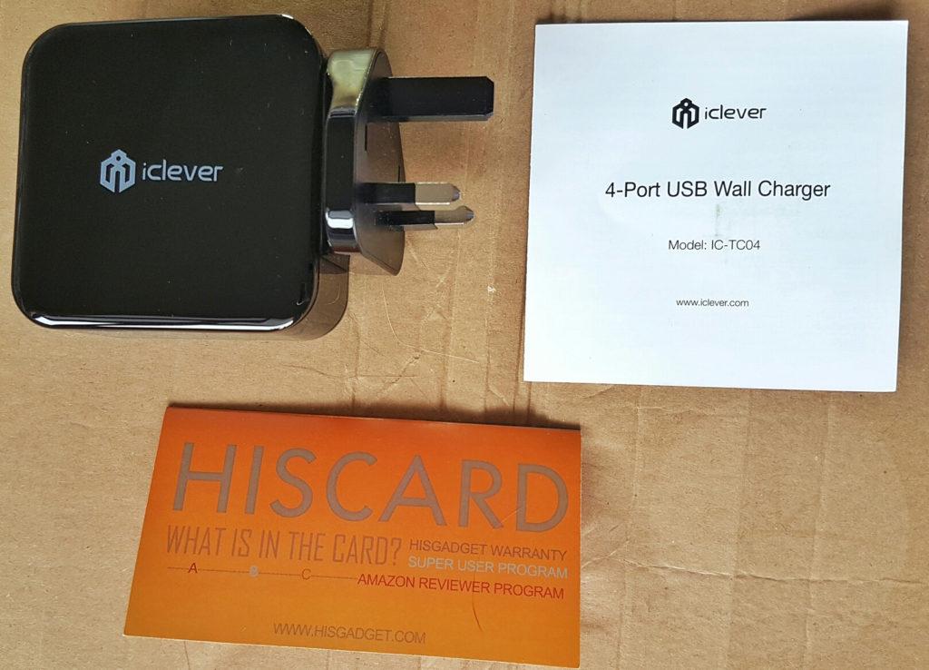 iClever Boostcube 4-port - Contents