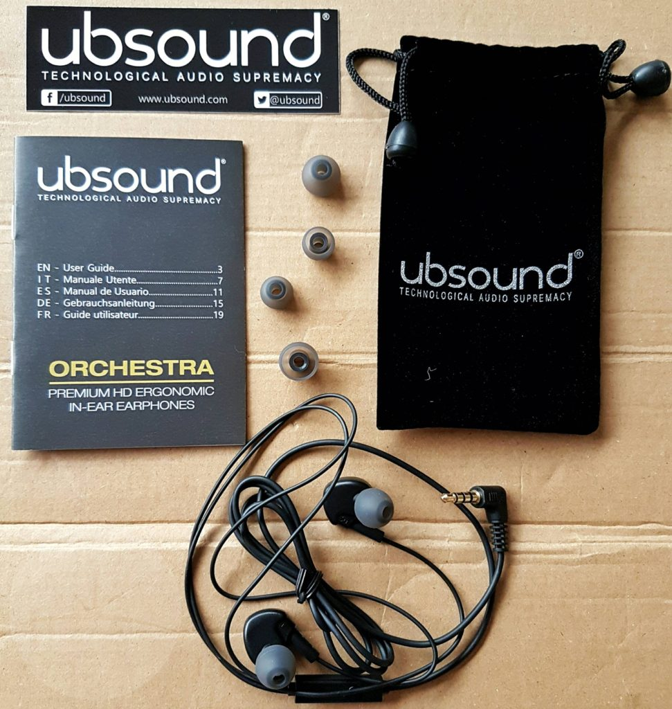 Ubsound Orchestra - Contents