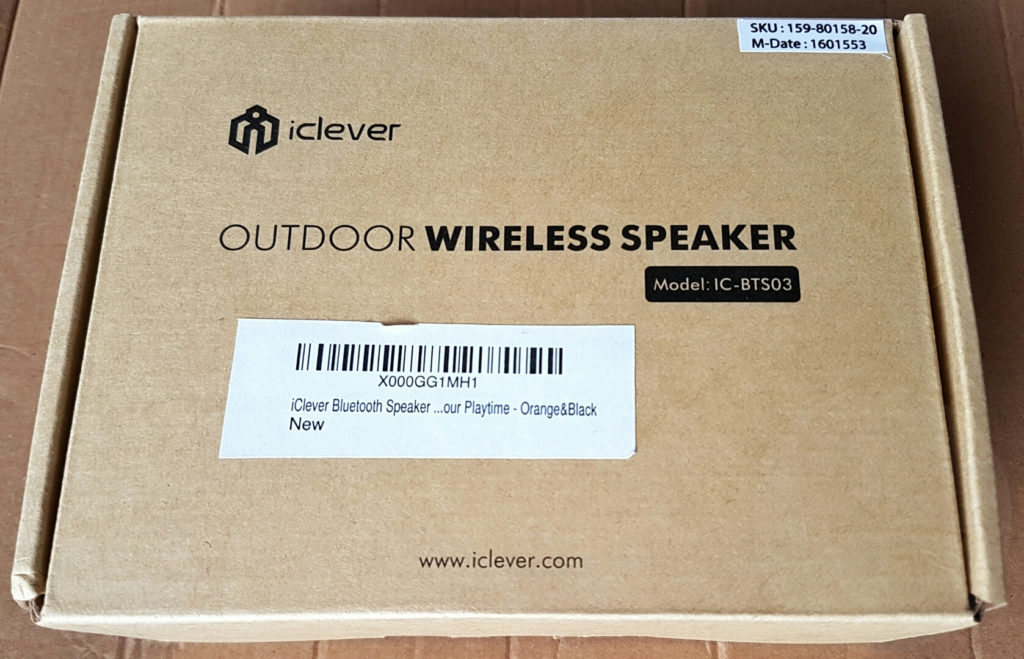 iClever IC-BTS03 - Box