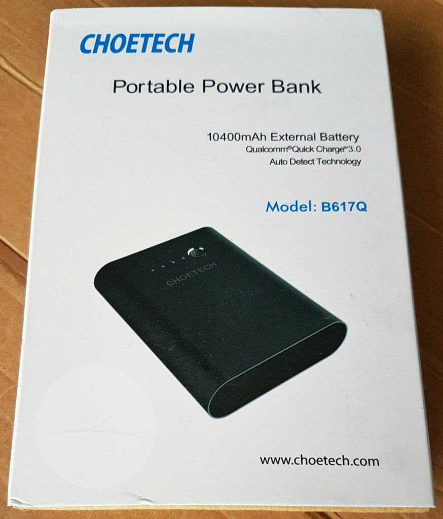 Choetech B617Q Power Bank - Box