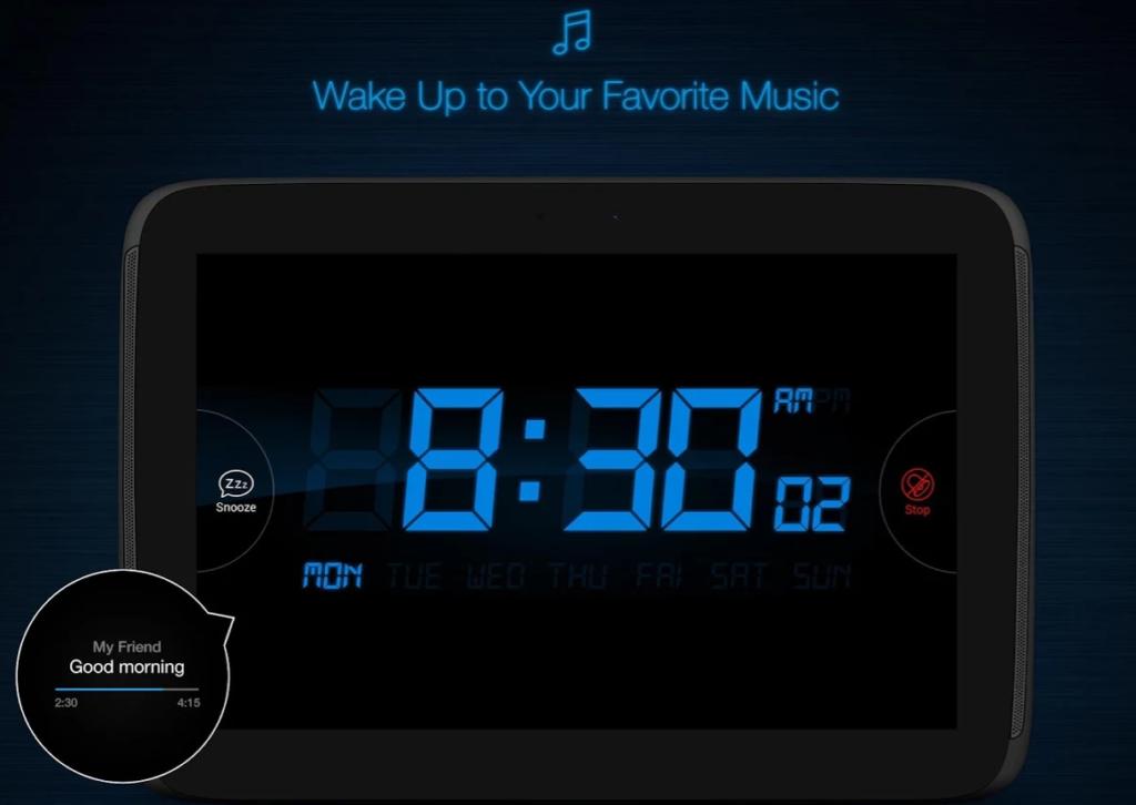 music my alarm clock