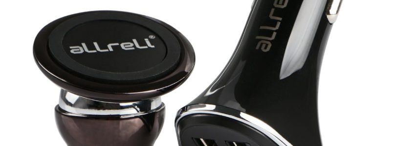 Review: aLLreLi's dual port car charger and magnetic holder