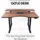 GAZE DESK : The Smartest Standing Desk Ever Kickstarter