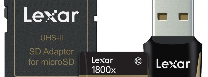 Lexar Professional 1800x 64GB UHS-II microSDXC Memory Card Review