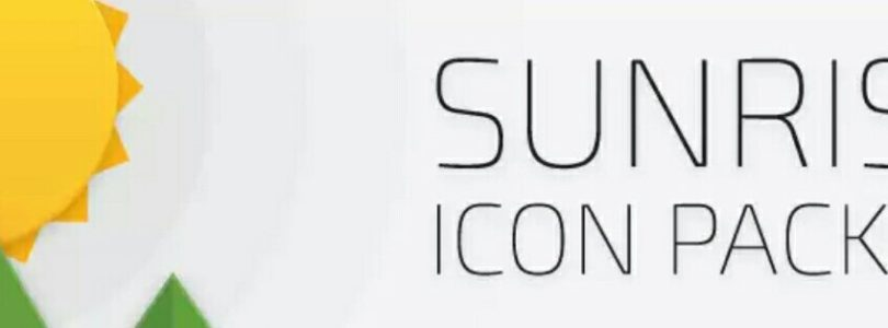 60 Second App Review – Sunrise Icon pack