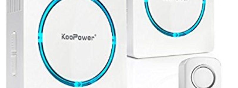 Review: Koopower's wireless doorbell