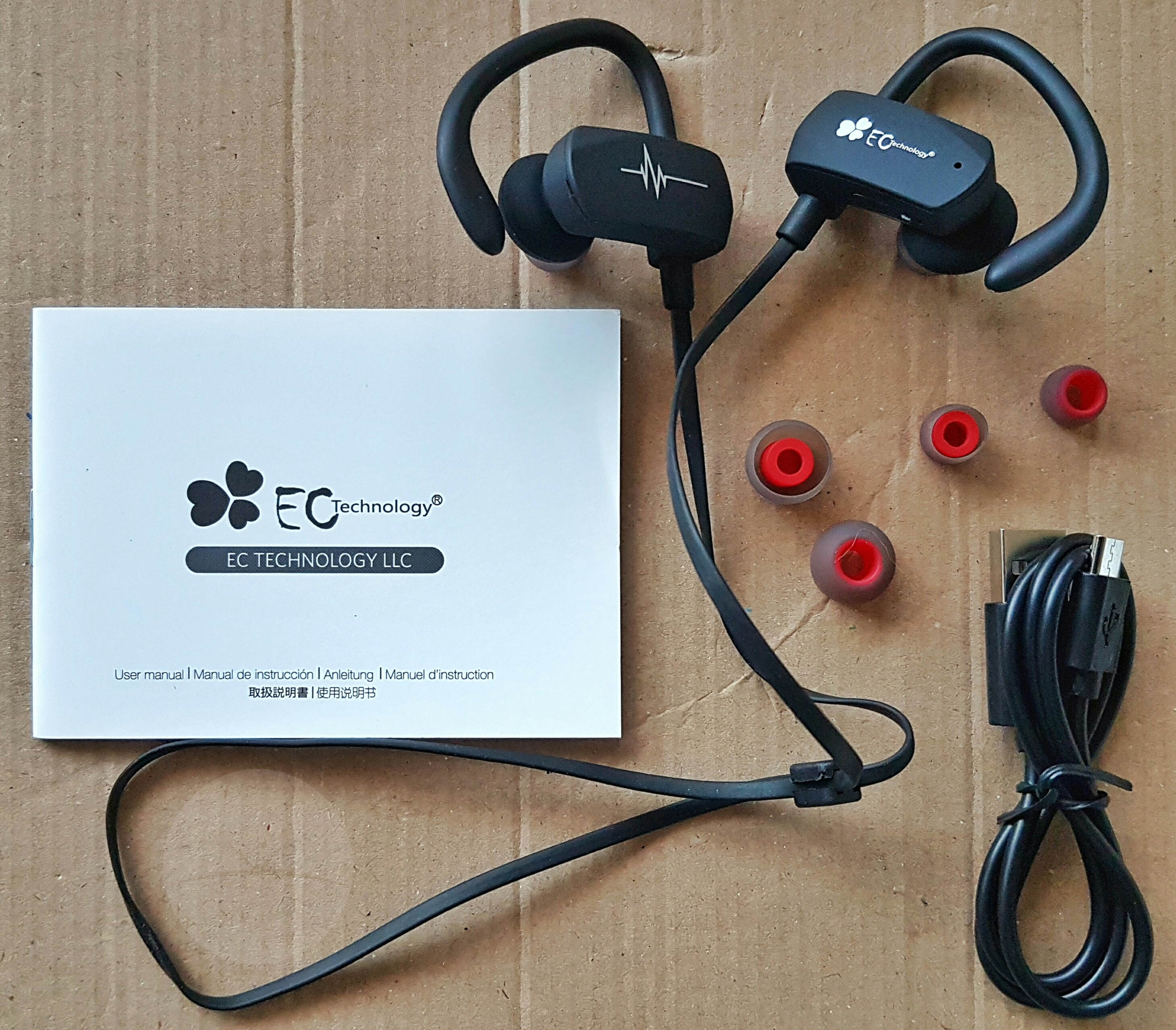 review ec technology bluetooth sports headset. Black Bedroom Furniture Sets. Home Design Ideas