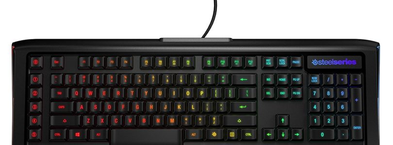 New Year Swag – The SteelSeries Apex M800 Mechanical Keyboard Review