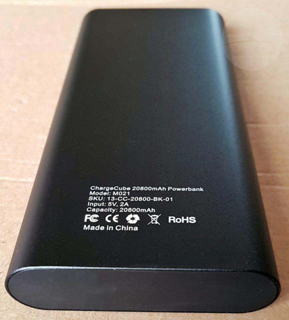 Askborg ChargeCube M021 - Back