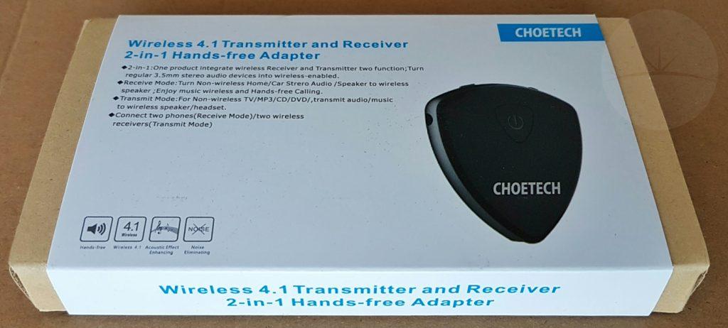 Choetech Bluetooth Tx Rx - Box