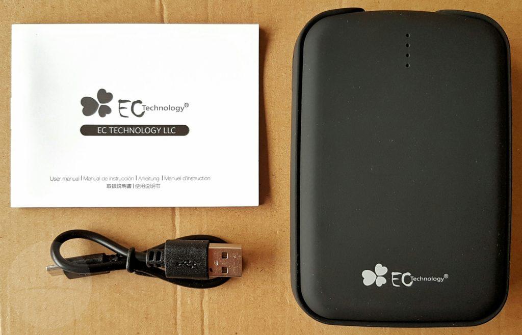 EC 12000mAh - Contents