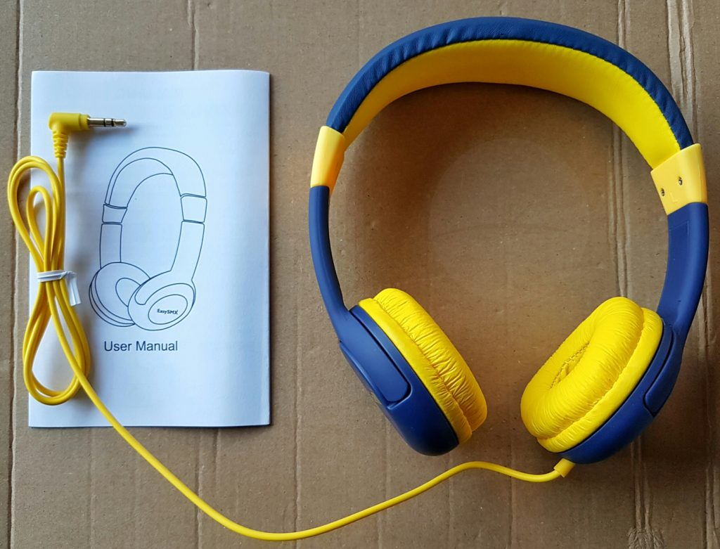 EasySMX Kids Headphones - Contents