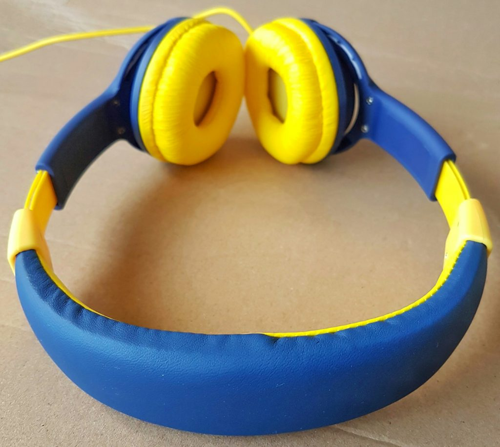 EasySMX Kids Headphones - Top Down